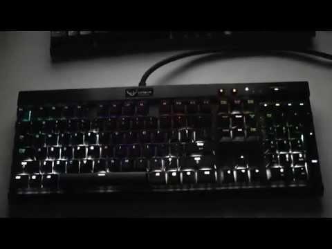 Corsair K70 RGB Linux Music Visualizer 2
