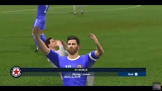 Dream League Soccer - Goal Highlights of DT World VS Rayo Vallecano