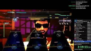 Rock Band 3 Expert FULL BAND - Full Game 100% FC SPEEDRUN in 9:37:12 (WR)