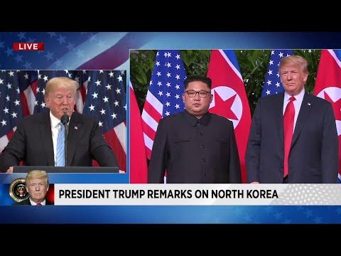 Trump says Kim Jong Un sent him 'beautiful' letter