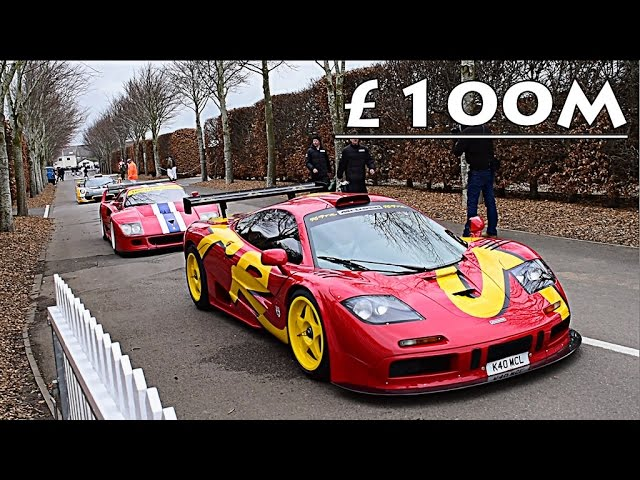 £100 MILLION WORTH OF RACE CARS ON TRACK!!