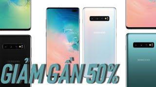 GIẢM GẦN 50% Galaxy S10 Plus 8G RAM chỉ còn 12,5 triệu !