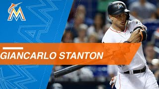 Check out all 59 of Stanton's homers in 2017