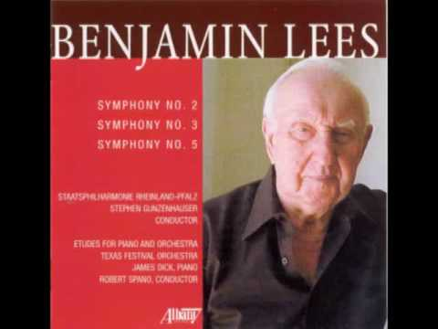 BENJAMIN LEES (1924-2010) - Symphony No. 2  - Movement II