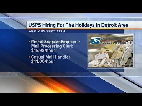 U.S. Postal Service Hiring For The Holidays In Metro Detroti