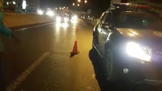 Accidents - Collision sur la route des Almadies