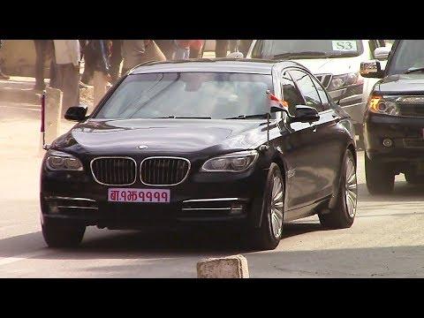 Indian PM Narendra Modi arrives in Kathmandu for a 2-day Nepal visit