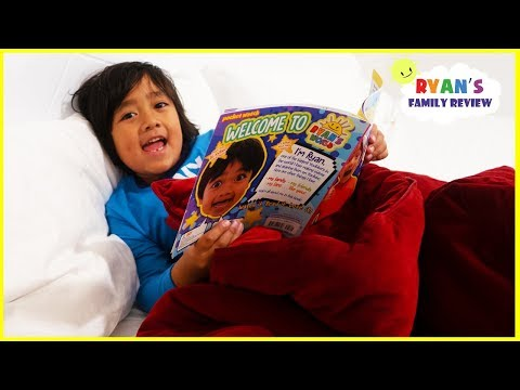 Ryan Reading Meet Ryan Book Story Time - Kid Night Routine!