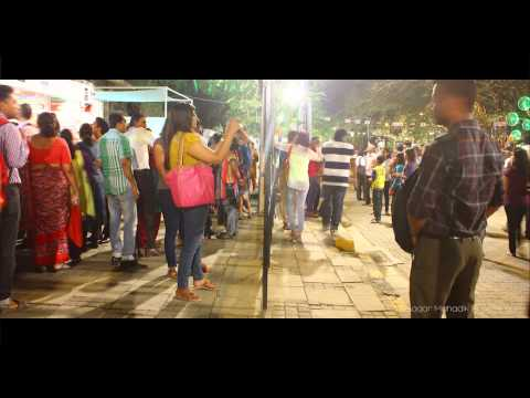 Kala Ghoda Arts Festival 2015, Time Lapse