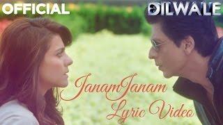 Janam Janam – Dilwale | Shah Rukh Khan | Kajol | karaoke | SRK | Kajol | Lyric Video