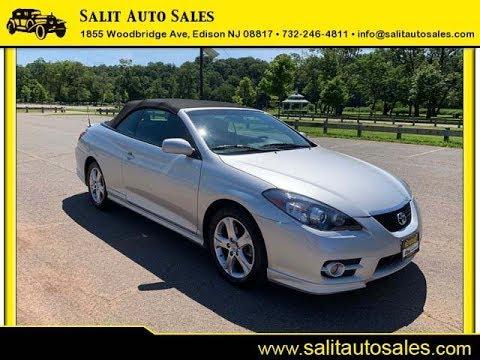 Salit Auto Sales - 2008 Toyota Solara Sport Convertible In Edison, NJ