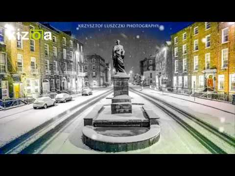 O'Connell Street, Limerick in snow 2018-03-01