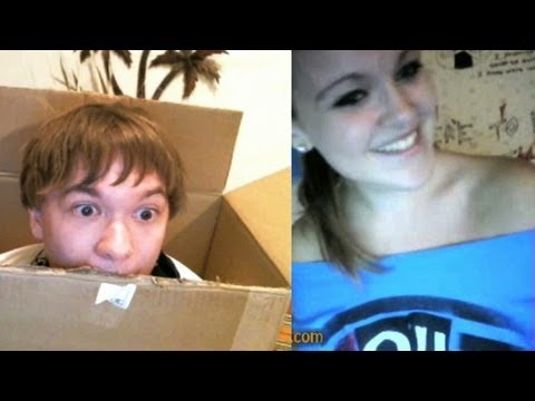 Boy in a Box on Omegle!