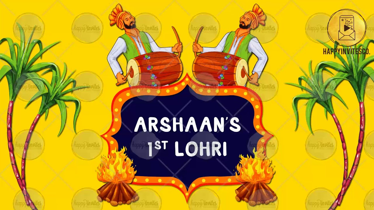 gt08 - lohri invitation video for whatsapp