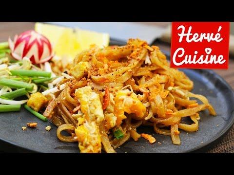 Pad Thai ou nouilles sautées : la recette thailandaise