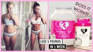 HOW TO LOSE 5 POUNDS IN 1 WEEK | WOMENS BEST REVIEW
