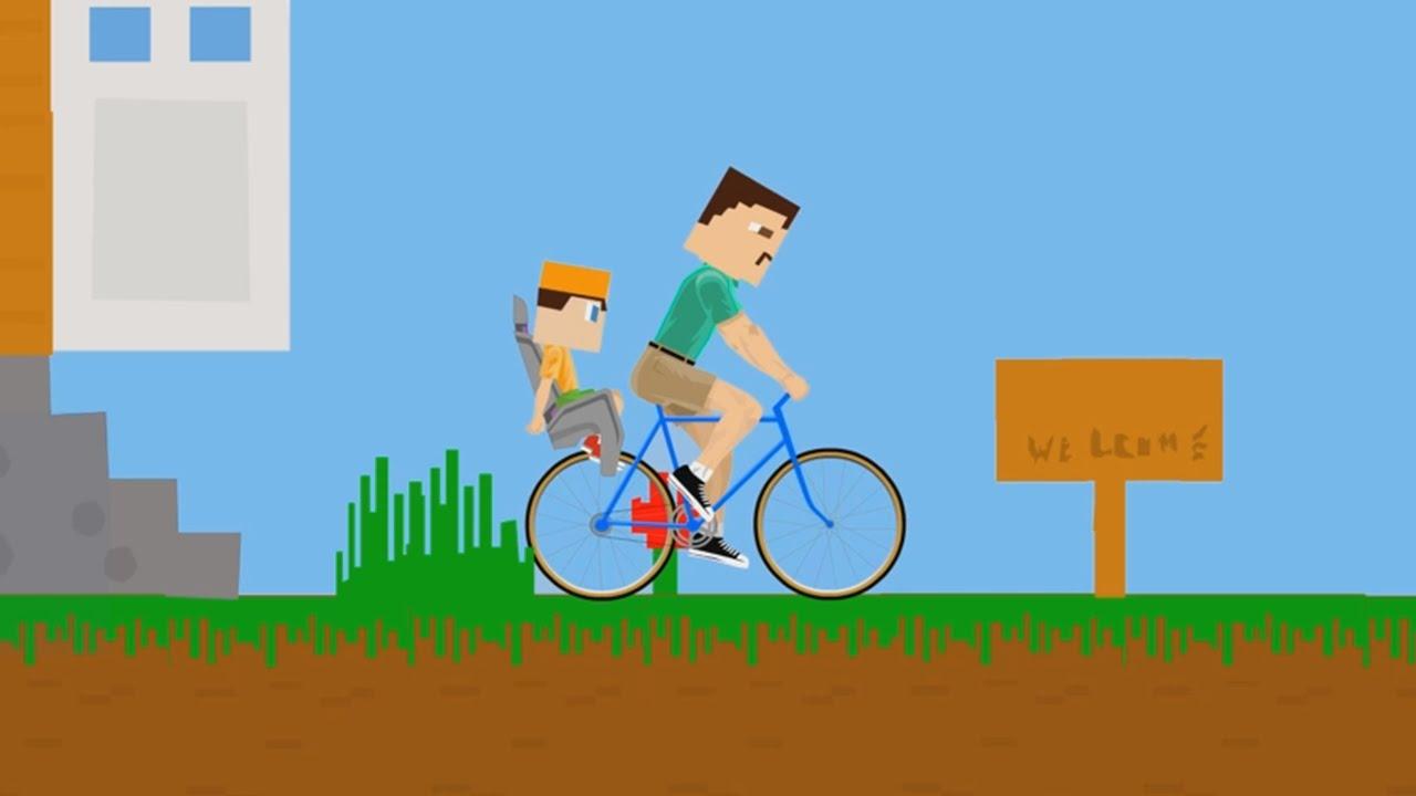 Minecraft In Happy Wheels Happy Wheels 46 Youtube