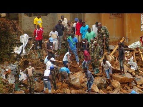 At least 300 dead in Sierra Leone mudslides