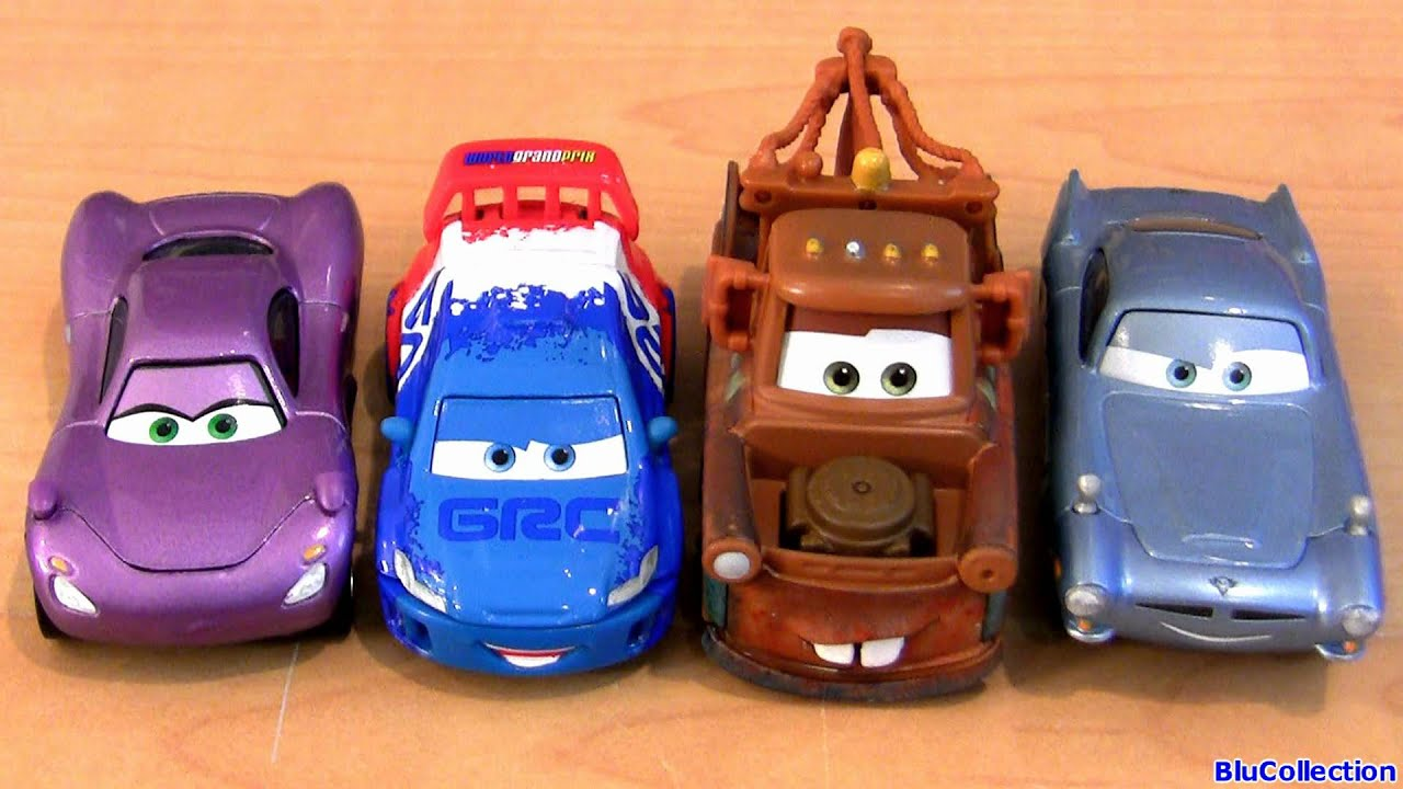 """5 pack CARS 2 Tomber with Oil Can Paris Espionage TRU Toys""""R""""Us"""