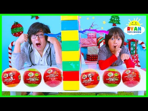 Twin Telepathy Surprise Toys Challenge Fun Fizzers Ryan vs Daddy!