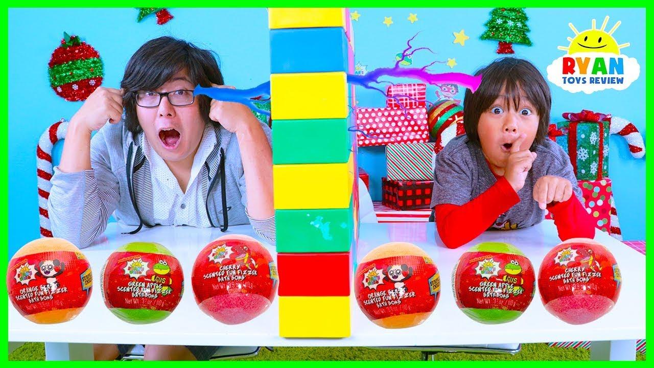 Twin Telepathy Surprise Toys Challenge Fun Fizzers Ryan Vs