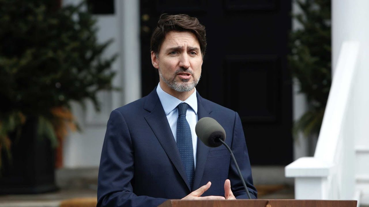 WATCH: Prime Minister of Canada Justin Trudeau delivers coronavirus update - YouTube