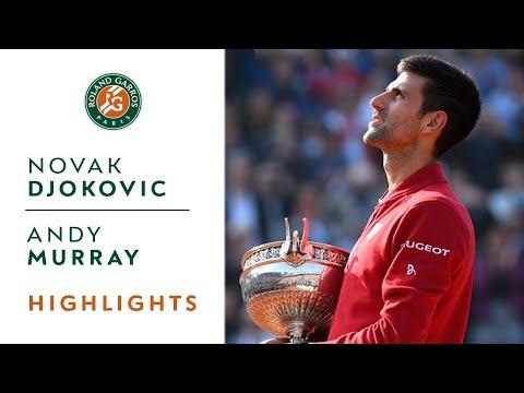 Djokovic v Murray 2016 Roland-Garros Men's Highlight / Final