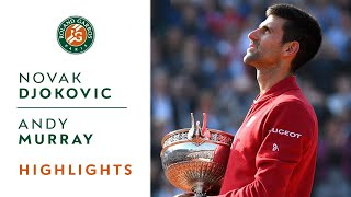 Novak Djokovic v Andy Murray Highlights - Men's Final 2016 I Roland-Garros