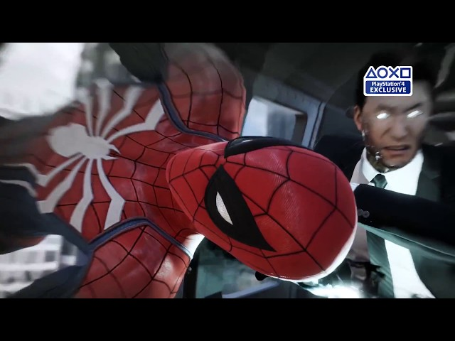 Spider-Man - Trailer de gameplay E3 2017