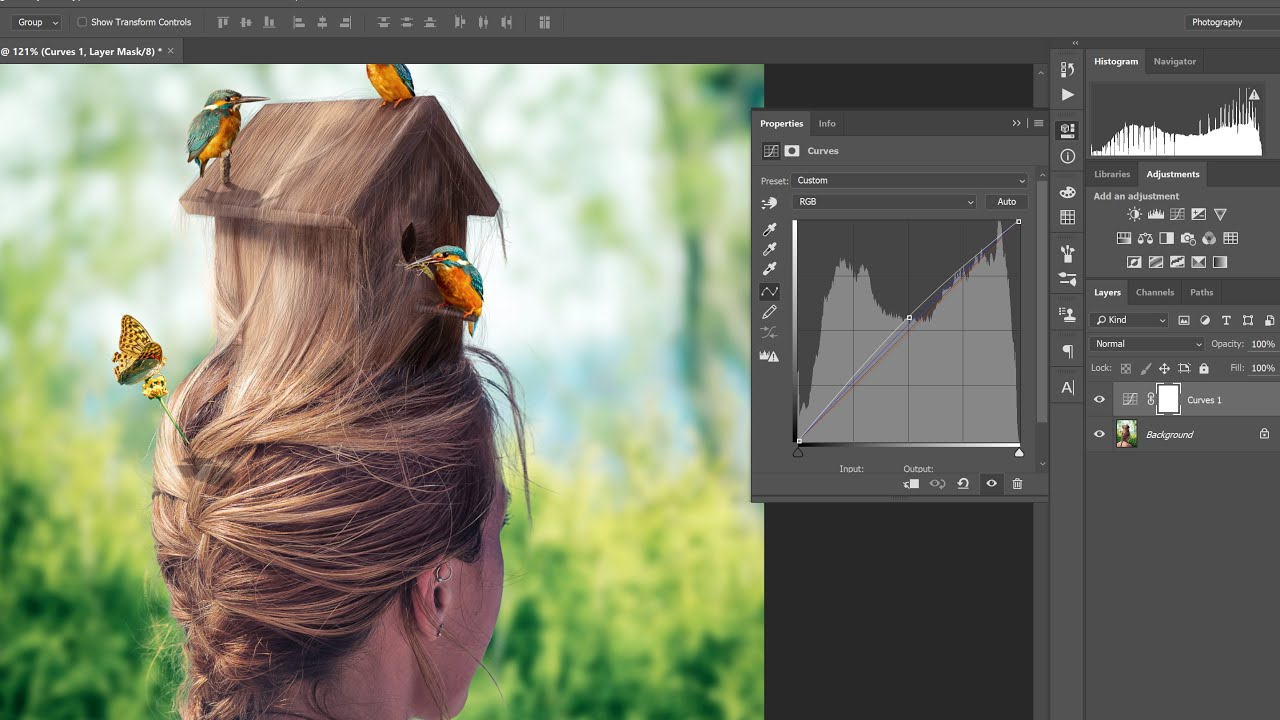 The Power of Curves | What you can do in Photoshop by only using curves