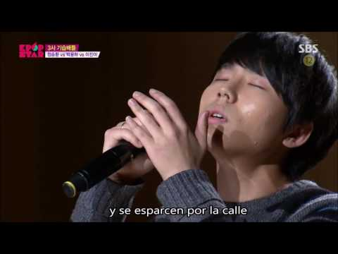 Jung Seung Hwan - Too Painful A Love Is Not Love By Kim Kwang Suk (Sub Español) #KpopStar4