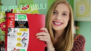 BACK TO SCHOOL: SUPPLIES HAUL 2015/2016 (BTS #2) | beautyisgood