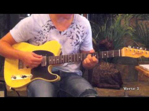 Bethel Live - God I Look to You (Lead Guitar Tutorial)