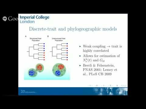 Phyloseminar #42: Erik Volz, Imperial College London