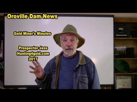 Oroville dam and flood gold
