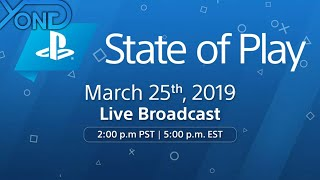 PlayStation State of Play Live with YongYea