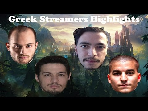 LOL GREEK STREAMERS BEST PLAYS / FUNNY MOMENTS (FORGIVEN/ΑΡΧΗΓΟΣ/WARRIORLADY/RIOU/OWNER/FREEZY)