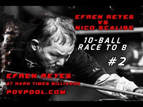 'Efren' 10-Ball Challenge • Efren Reyes  vs Nico Scalise /  May 2016