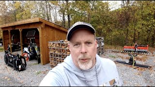 #934 I have been meaning to tell you something! Firewood Totes and BX Digging