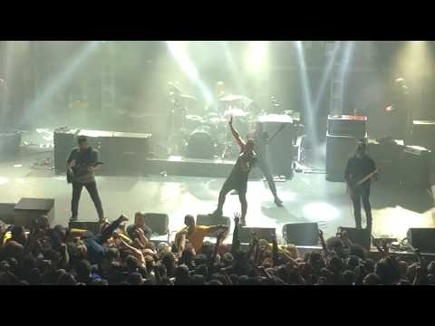 """The Dillinger Escape Plan """"Sunshine The Werewolf"""" LAST TIME EVER 12/29/17 Final Show NYC Terminal 5"""