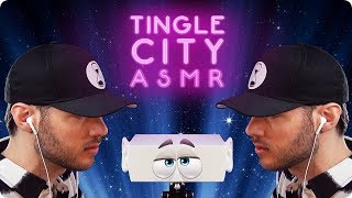 ASMR TINGLE CITY - Whispering & Trigger Sounds for Sleep