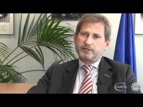 EU Regional Policy Commissioner Johannes Hahn - EUX.TV interview