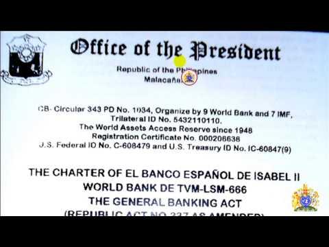 WORLD BANK DE TVM-LSM-666 per REPUBLIC ACT 337 (irrevocable)