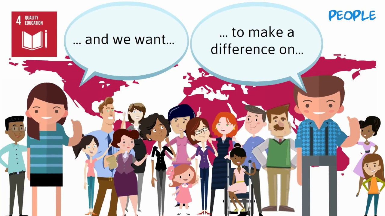 SDG 4 - Sustainable Development Goal, Quality Education