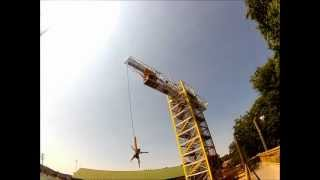 Bungee Jumping at The Track