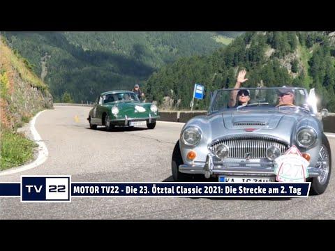 MOTOR TV22: Die 23. Ötztal Classic 2021 - durch Südtirol und über das Timmelsjoch am 2. Tag