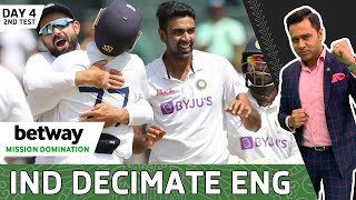 India PUNISH England & WIN the 2nd Test | Betway Mission Domination | Day 4 Review | Aakash Chopra