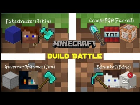 KFRE Game Plays #4: Minecraft PE   House Build Battle