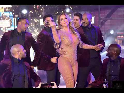 Mariah Carey embarrassing performance New Years Eve 2016 2017 LIVE #1