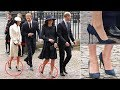 Meghan and Kate's shoes are noticed something strange at the Commonwealth Day service